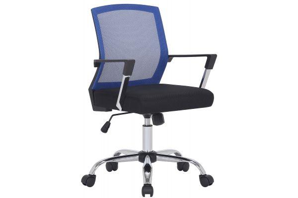 Bürostuhl Mableton schwarz/blau