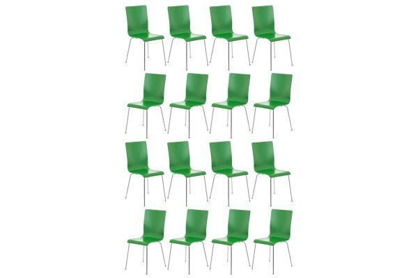 Set van 16 Pepe bezoekersstoelen