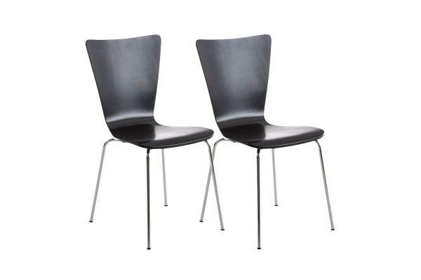 2x bezoekersstoelen Aaron