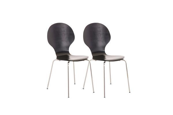 Set van 2 stapelstoelen Diego