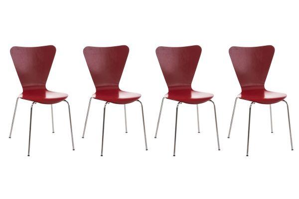 4x bezoekersstoel Calisto