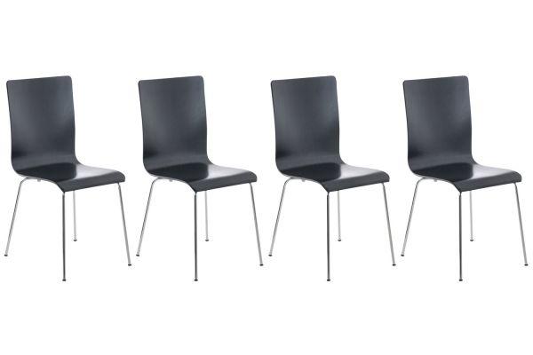 Set van 4 Pepe bezoekersstoelen