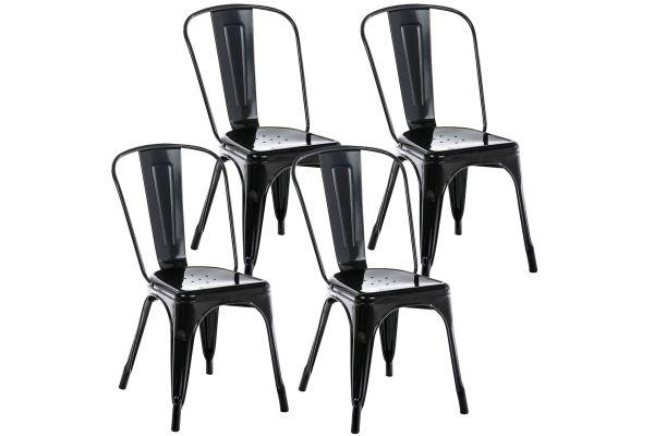 Set van 4 Benedikt stoelen