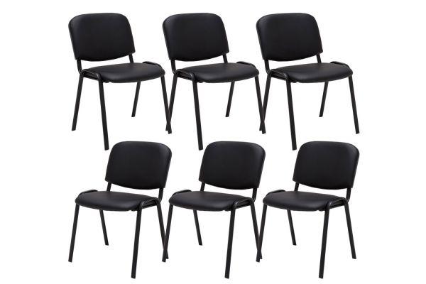 Set van 6 Bezoekersstoel Ken stof
