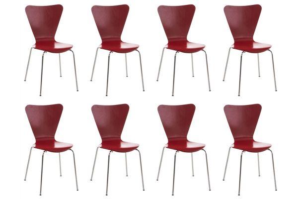 8x bezoekersstoel Calisto