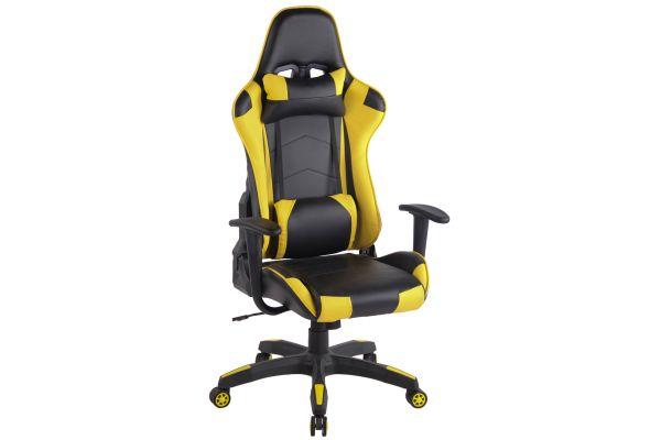 Bürostuhl Miracle V2 schwarz/gelb