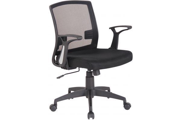 Bürostuhl Renton schwarz/schwarz