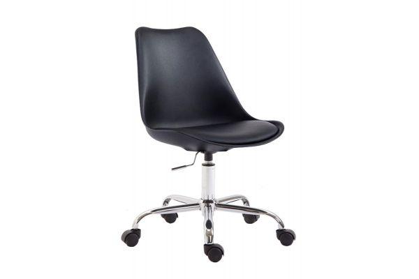 Bürostuhl Toulouse Kunststoff schwarz
