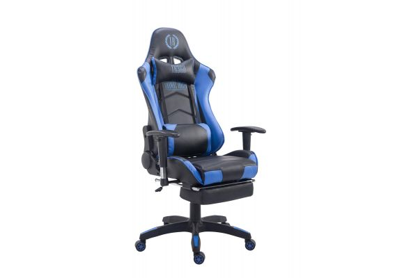 Racing bureaustoel XL Turbo met voetsteun